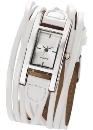 Женские наручные часы Эстель (белый) bonprix. Цвет: белый
