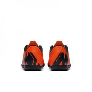 Футбольные бутсы для игры в зале/на крытом поле дошкольников/школьников  Jr. MercurialX Vapor XII Club IC Nike. Цвет: оранжевый