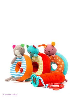 Развивающая игрушка bobby&friends. Цвет: красный