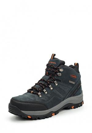 Ботинки Skechers. Цвет: серый