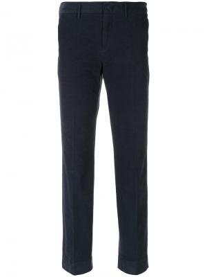 Строгие брюки Pt01. Цвет: синий