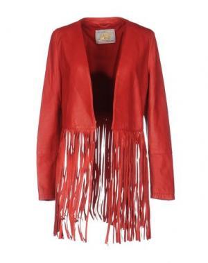 Куртка VINTAGE DE LUXE. Цвет: красный