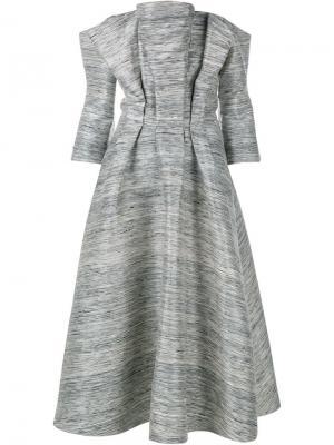 Платье Ursula Tata Naka. Цвет: серый