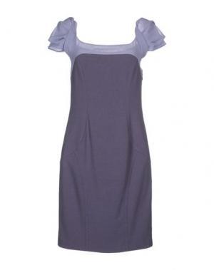 Короткое платье X'S MILANO. Цвет: розовато-лиловый