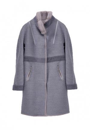 Пальто Marester. Цвет: серый