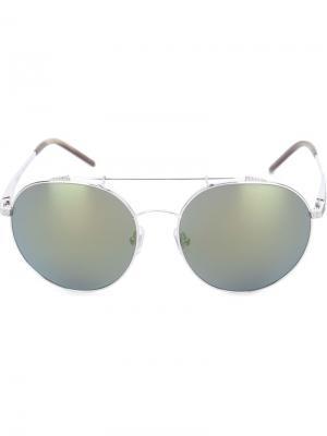 Солнцезащитные очки Combusions Sama Eyewear. Цвет: металлический