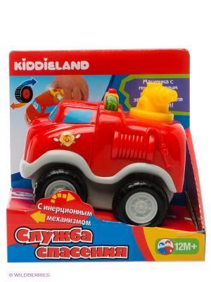 Развивающая игрушка Пожарный автомобиль Kiddieland. Цвет: красный