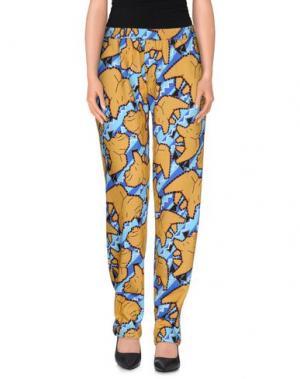 Повседневные брюки CALLA. Цвет: охра