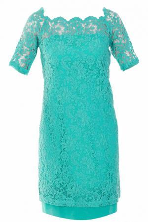 Платье D.Exterior. Цвет: зеленый