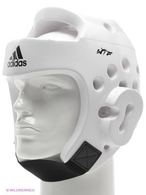 Шлем для тхэквондо Adidas. Цвет: белый
