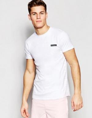 Supremacy Пляжная футболка с защитой от УФ-лучей. Цвет: белый