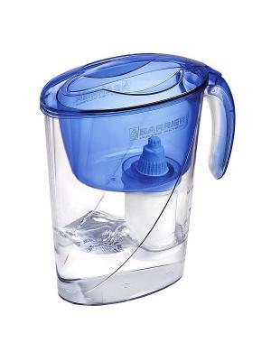Фильтр-кувшин ЭКО аквамарин БАРЬЕР. Цвет: синий