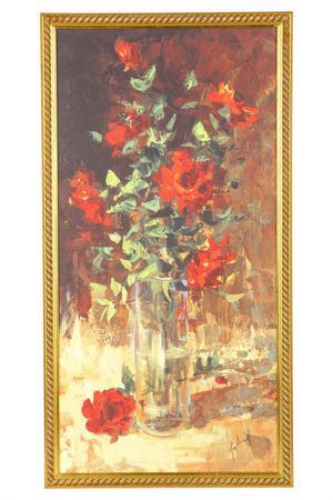 Постер F.A.L. Цвет: золотой, красный
