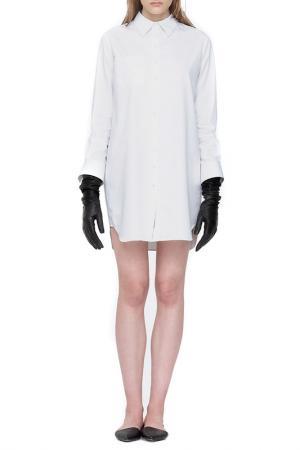 Рубашка Cyrille Gassiline. Цвет: белый