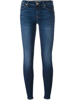 Джинсы  Skinny B(air) Duchess 7 For All Mankind. Цвет: синий