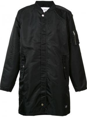 Пальто Reese Wesc. Цвет: чёрный