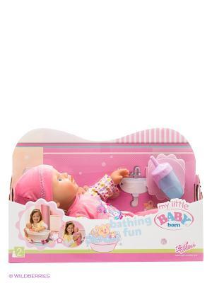 Игрушка Кукла my little BABY born, 32 см. ZAPF. Цвет: розовый