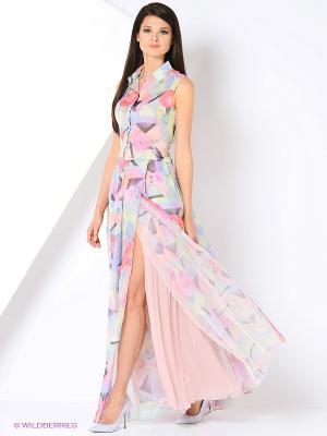 Блуза Isabel Garcia. Цвет: розовый