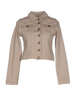 Куртка DUCK FARM. Цвет: бежевый