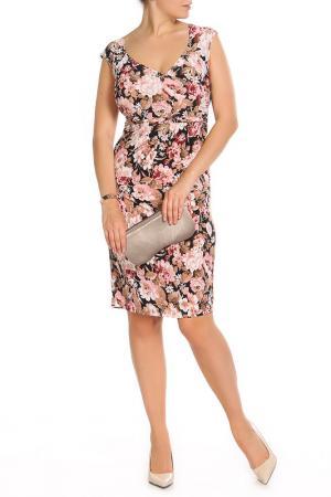 Платье MONT PELLIER. Цвет: мультицвет