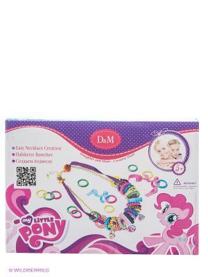 Набор для создания подвески Яркая Радуга  My Little Pony Делай с мамой. Цвет: розовый