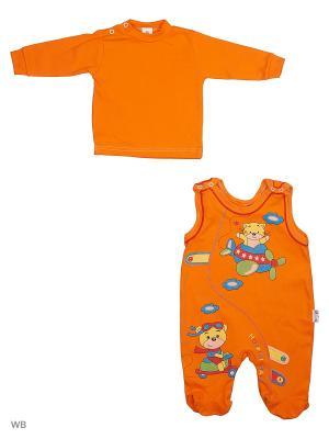 Комплект одежды Babycollection. Цвет: оранжевый
