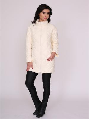 Куртка nasha. Цвет: молочный