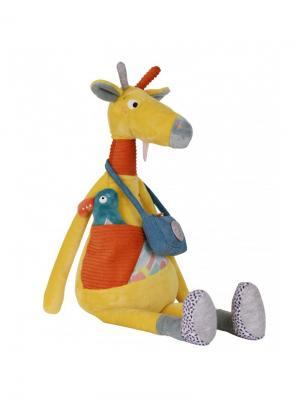 Ebulobo Развивающая игрушка Жираф Билли. Цвет: желтый