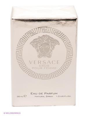Парфюмированная вода  Eros Pour Femme, 30 мл Versace. Цвет: прозрачный
