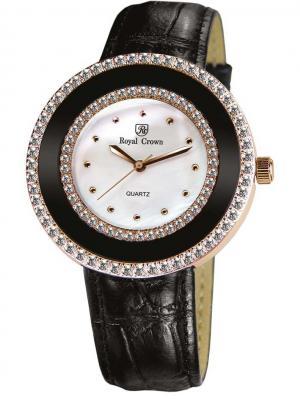 Часы Royal Crown. Цвет: золотистый, черный