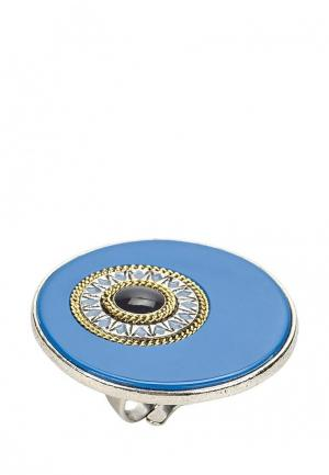 Кольцо Franck Herval. Цвет: голубой