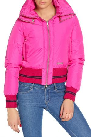 Куртка Frankie Morello. Цвет: малиновый