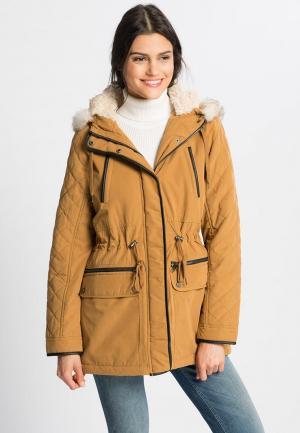 Куртка LC Waikiki. Цвет: коричневый
