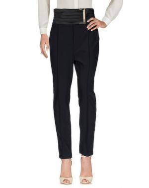 Повседневные брюки ELISABETTA FRANCHI GOLD. Цвет: черный