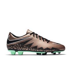Мужские футбольные бутсы для игры на твердом грунте  Hypervenom Phade II FG Nike. Цвет: коричневый