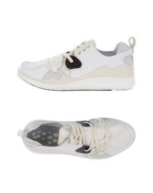Низкие кеды и кроссовки Y-3. Цвет: белый