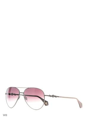 Солнцезащитные очки VW 904S 02 Vivienne Westwood. Цвет: серебристый