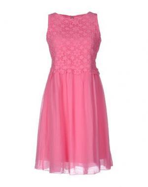 Короткое платье SPECIAL DAY. Цвет: фуксия