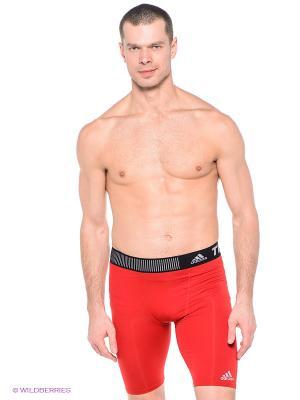 Шорты TF BASE ST 9 Adidas. Цвет: красный