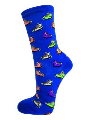 Носки HOT SOX. Цвет: синий
