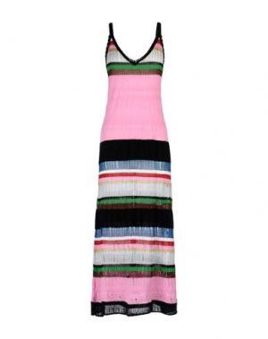 Платье длиной 3/4 AKEP. Цвет: розовый