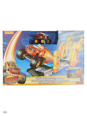 Игровой набор Гиперпетля Mattel. Цвет: оранжевый, желтый