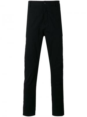 Прямые брюки Poème Bohémien. Цвет: чёрный