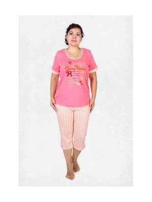 Пижама El Fa Mei. Цвет: розовый