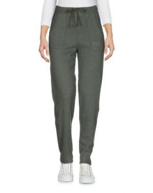 Повседневные брюки AERONAUTICA MILITARE. Цвет: темно-зеленый