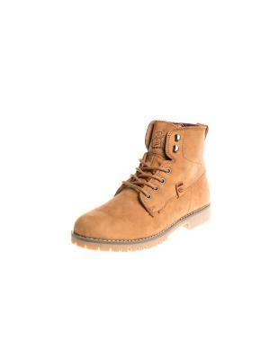 Ботинки Rip Curl. Цвет: коричневый, бежевый, светло-коричневый
