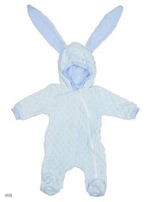 Комбинезон нательный для малыша Flip. Цвет: голубой