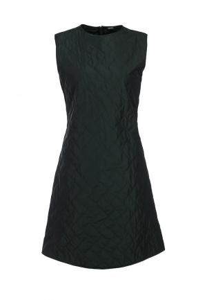 Платье Jil Sander Navy. Цвет: зеленый