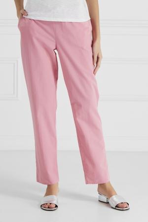 Брюки с вышивкой Princesse Tam-Tam. Цвет: розовый