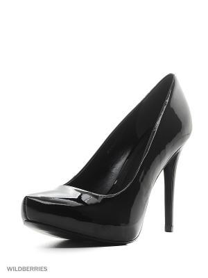 Туфли INDIANA. Цвет: черный